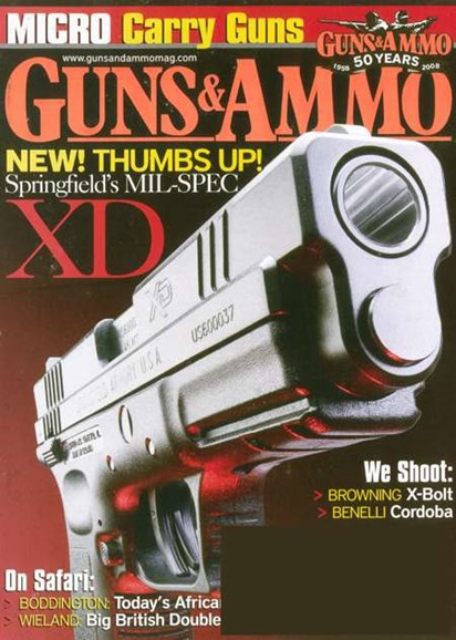 Guns & Ammo Cover - 5/1/2008