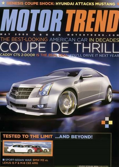 Motor Trend Cover - 5/1/2008