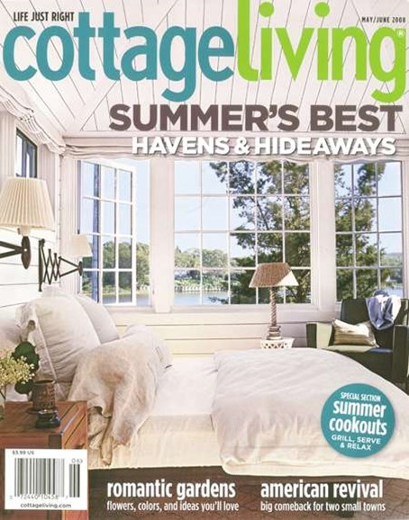 Cottage Living Cover - 5/1/2008