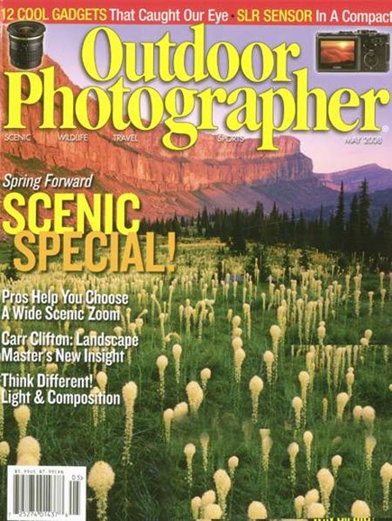 Outdoor Photographer Cover - 6/1/2008
