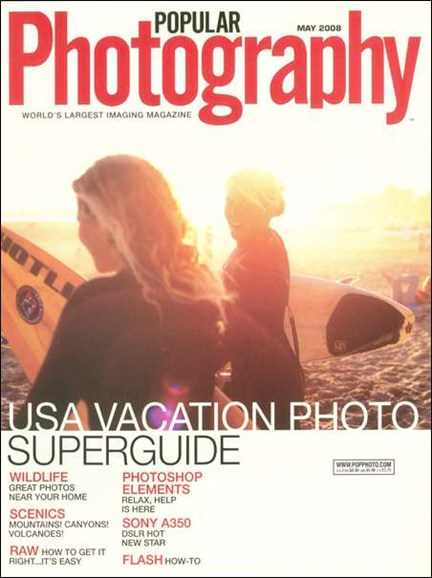 Popular Photography Cover - 5/1/2008