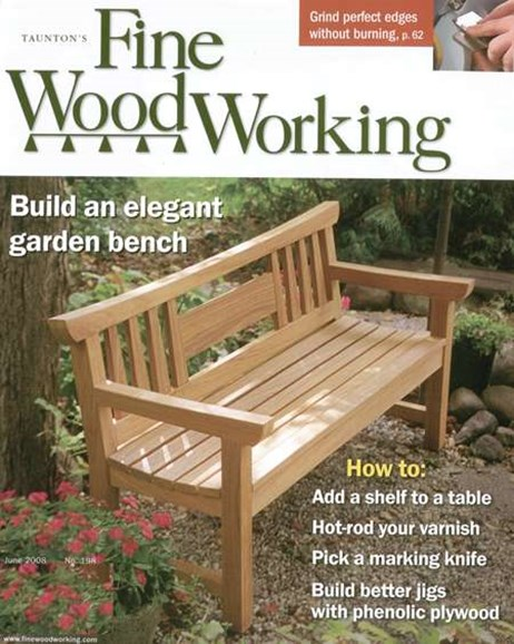 Fine Woodworking Cover - 6/1/2008