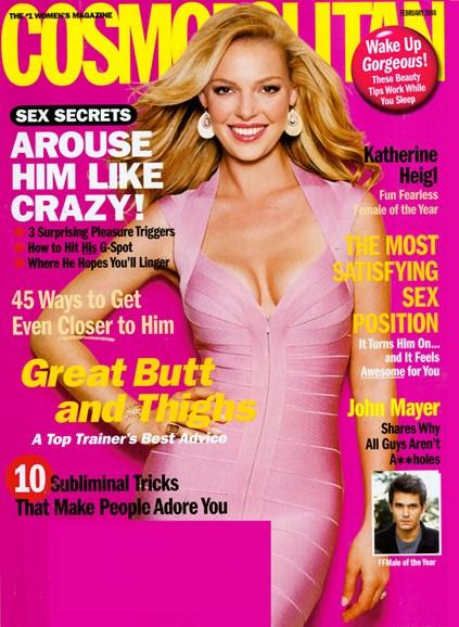 Cosmopolitan Cover - 2/1/2008