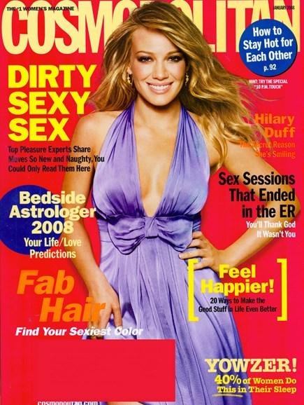 Cosmopolitan Cover - 1/1/2008