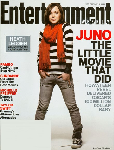 Entertainment Weekly Cover - 2/1/2008