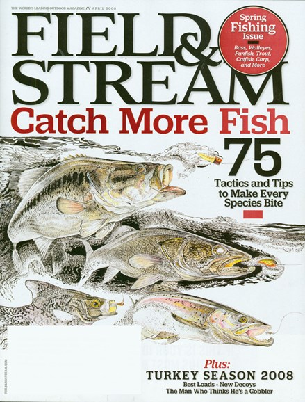 Field & Stream Cover - 4/1/2008