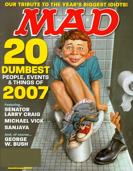 Mad Cover - 1/1/2008