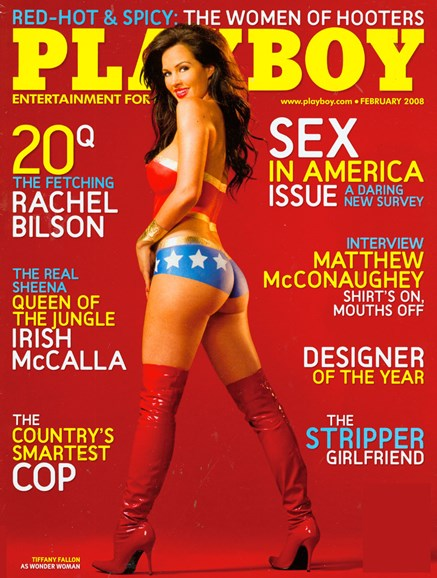 Playboy Cover - 2/1/2008