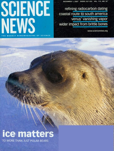Science News Cover - 2/1/2008