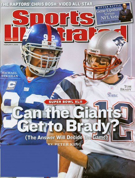 Sports Illustrated Cover - 2/1/2008