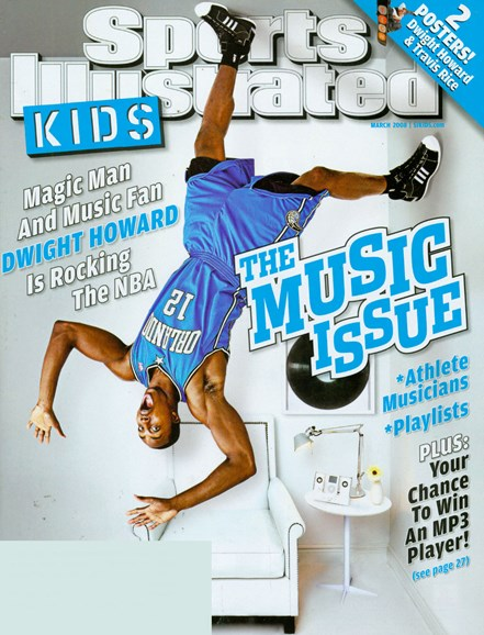 Sports Illustrated Kids Cover - 3/1/2008