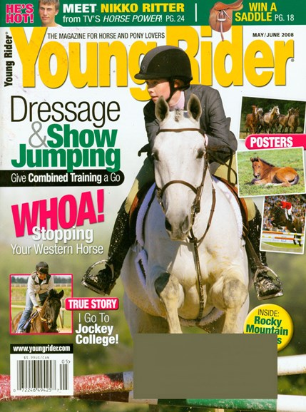 Young Rider Cover - 5/1/2008