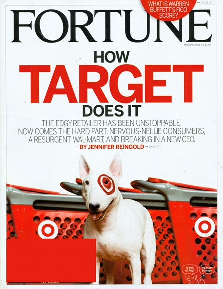Fortune Cover - 4/1/2008