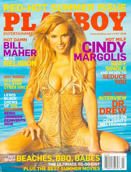 Playboy Cover - 7/1/2008