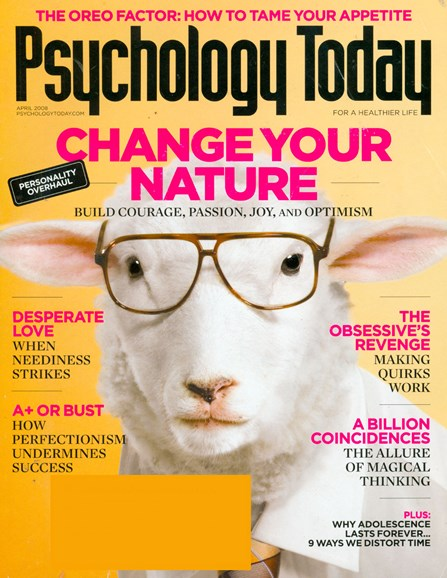 Psychology Today Cover - 4/1/2008