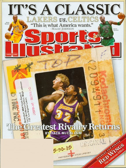 Sports Illustrated Cover - 6/1/2008