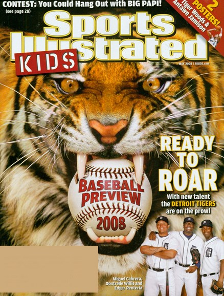Sports Illustrated Kids Cover - 5/1/2008