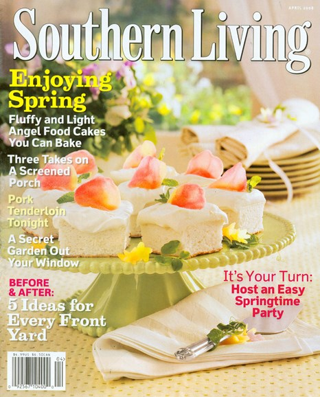 Southern Living Cover - 4/1/2008