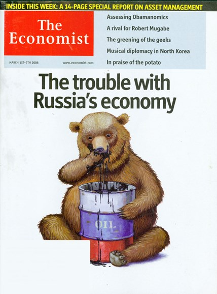 The Economist Cover - 3/1/2008