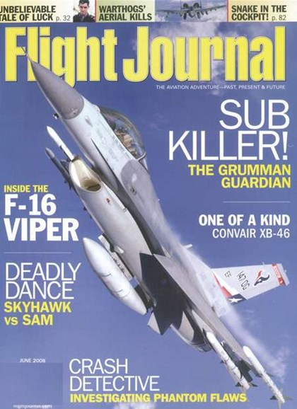 Flight Journal Cover - 6/1/2008