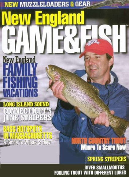 New England Game & Fish Cover - 6/1/2008