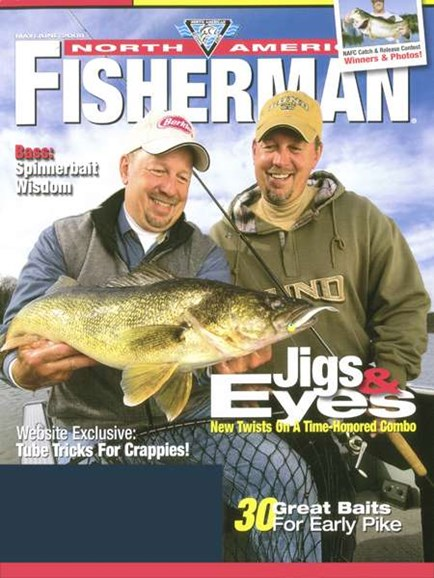 North American Fisherman Cover - 6/1/2008