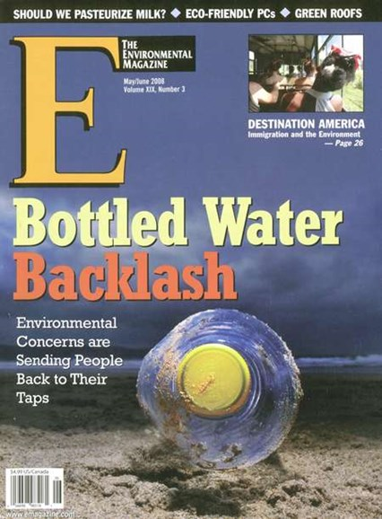 E: The Environment Magazine Cover - 6/1/2008