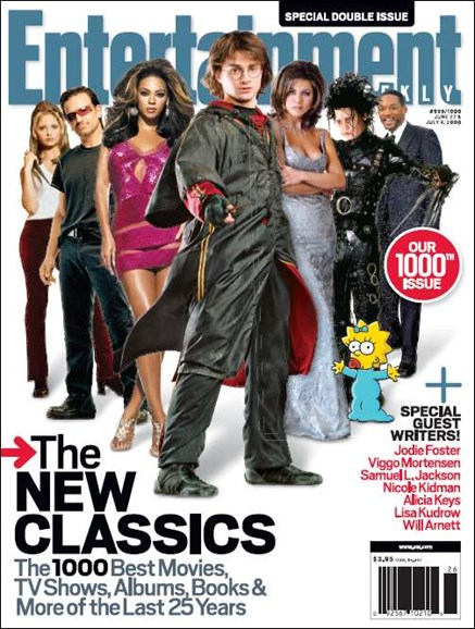 Entertainment Weekly Cover - 7/4/2008