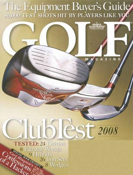 Golf Magazine Cover - 5/1/2008