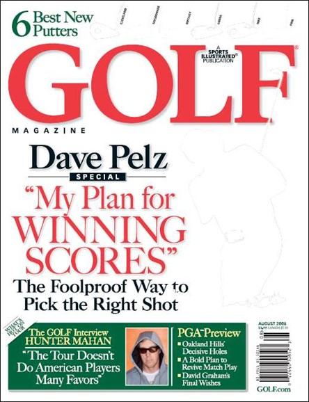 Golf Magazine Cover - 8/1/2008
