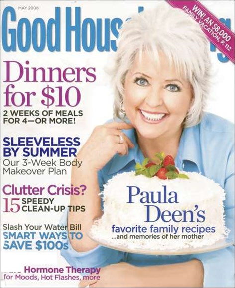 Good Housekeeping Cover - 5/1/2008