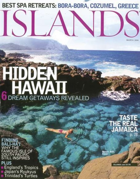 Islands Cover - 4/1/2008