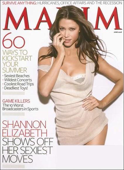 Maxim Cover - 6/1/2008