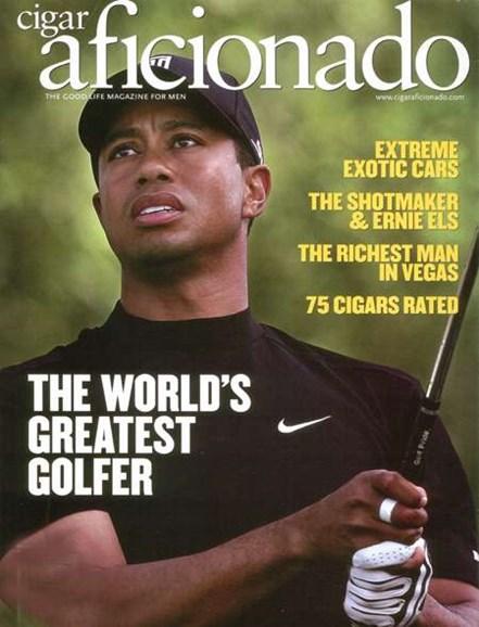 Cigar Aficionado Cover - 5/1/2008