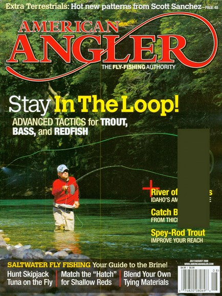 American Angler Cover - 7/1/2008