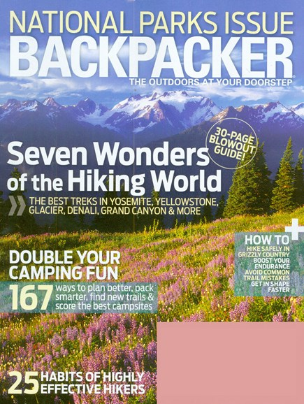 Backpacker Cover - 8/1/2008