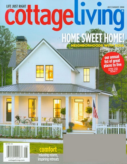 Cottage Living Cover - 7/1/2008