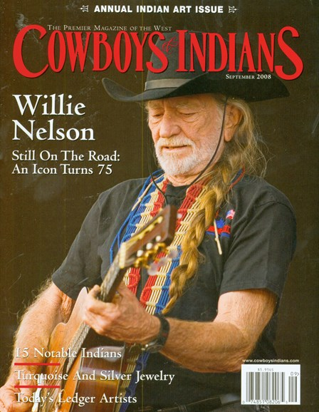 Cowboys & Indians Cover - 7/1/2008