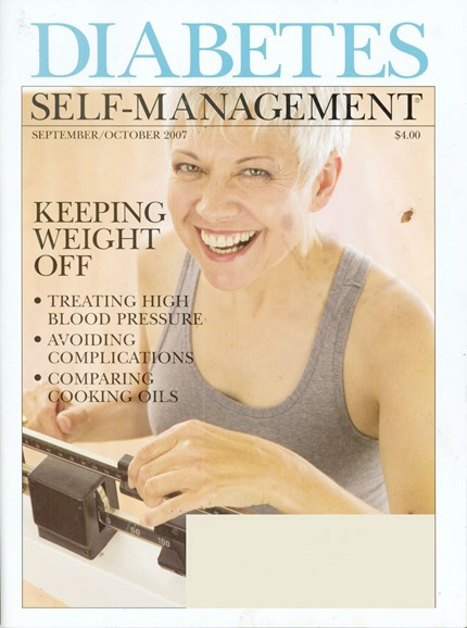Diabetes Self-Management Cover - 10/1/2007