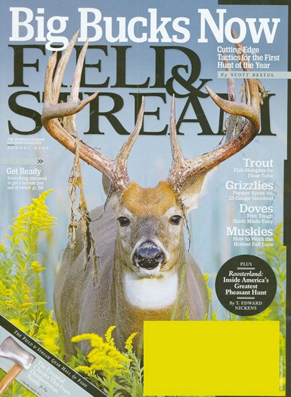 Field & Stream Cover - 8/1/2008