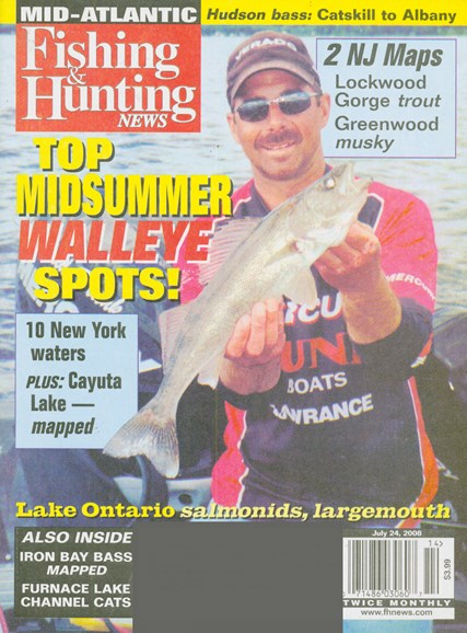Fishing & Hunting News Cover - 7/1/2008