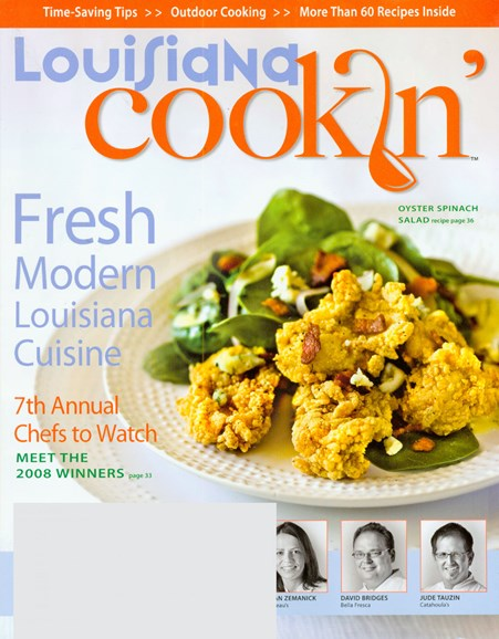 Louisiana Cookin' Cover - 8/1/2008