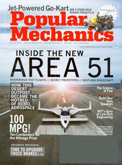 Popular Mechanics Cover - 8/1/2008