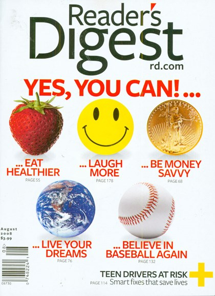 Reader's Digest Cover - 8/1/2008