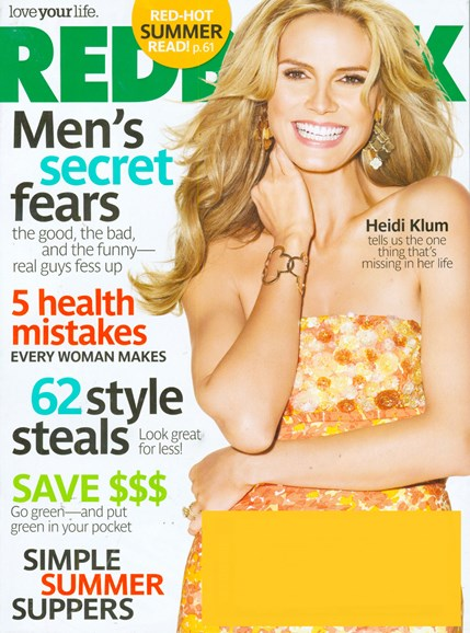Redbook Cover - 7/1/2008