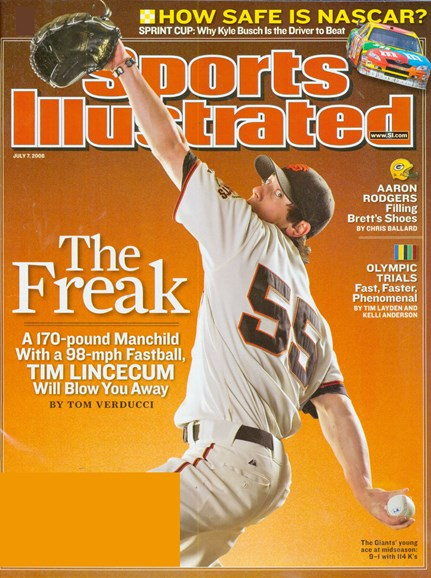 Sports Illustrated Cover - 7/1/2008
