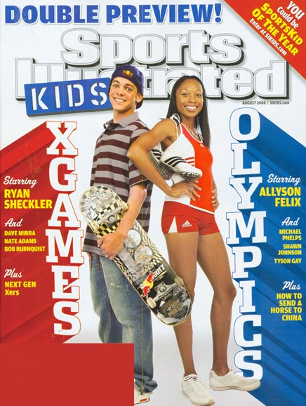 Sports Illustrated Kids Cover - 8/1/2008
