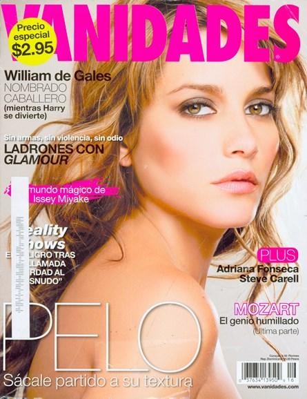Vanidades Cover - 7/29/2008