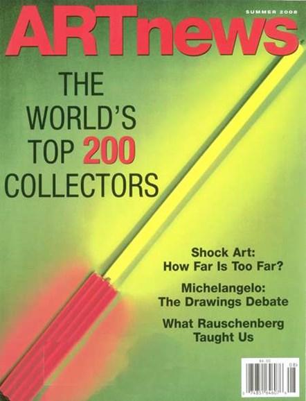 ARTnews Cover - 6/1/2008