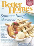 Better Homes & Gardens Magazine 8/1/2008